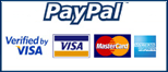 PayPal: Accept all major forms of payment - Visa, MasterCard...