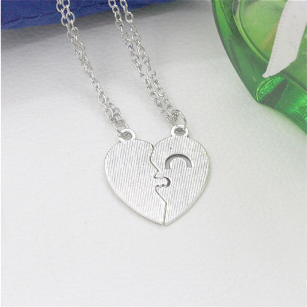 from pendant women girl necklaces stainless boy love romantic men item lovers jewelry in couple necklace forever steel